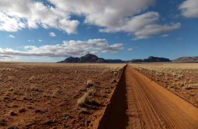 Namibie Route Paysage
